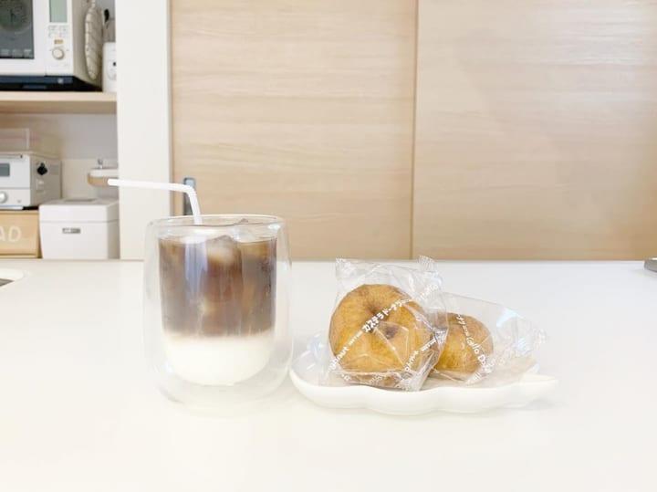 【ダイソー】ツートンコーヒーをおしゃれに美味しくいただく