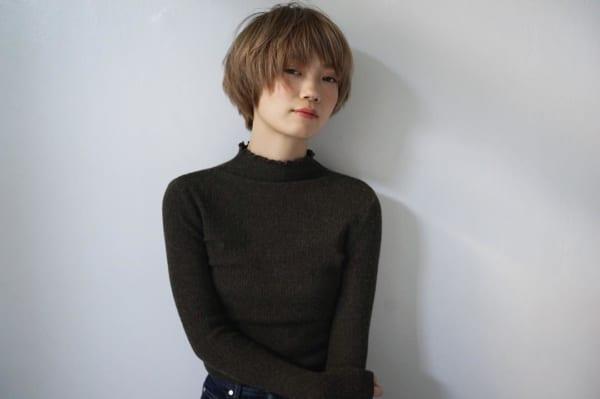 ベース型さんに似合うショートヘア《前髪あり》4