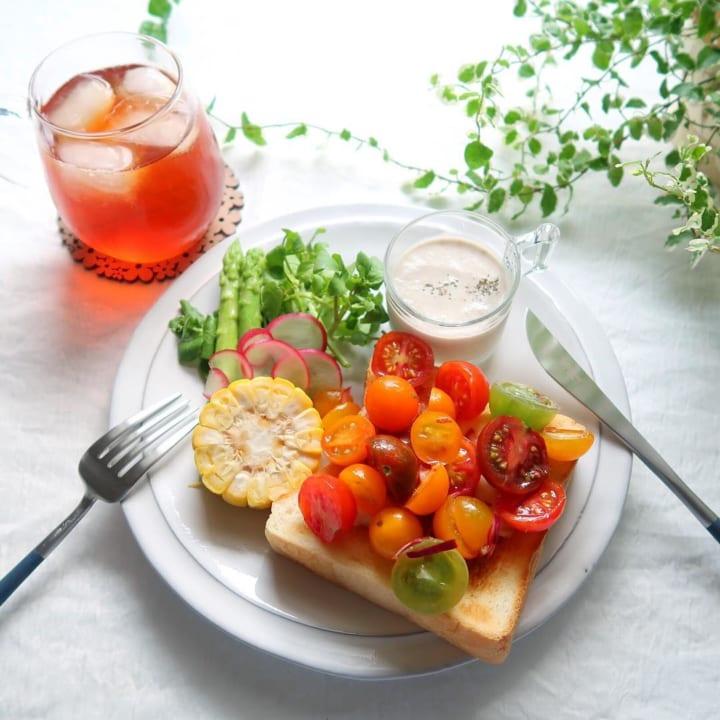 プチトマトのマリネを使ったアレンジレシピ
