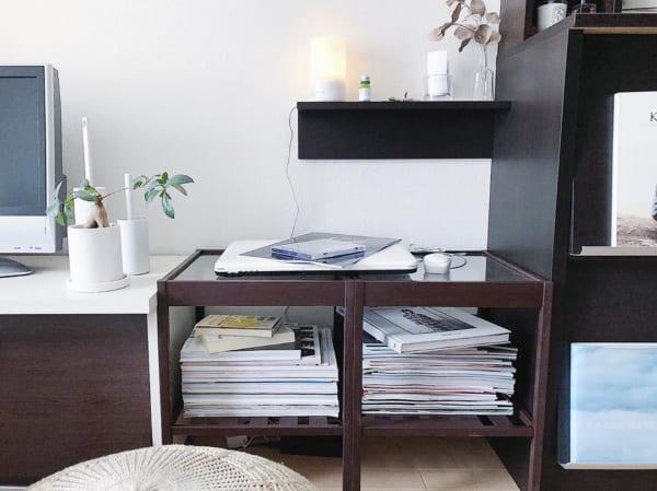 サイドテーブル【IKEAのNESNA】