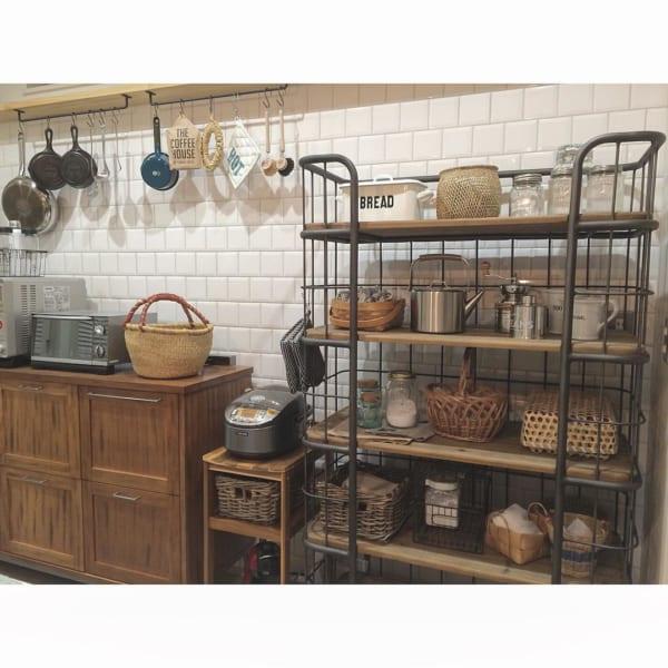 キッチン ディスプレイ収納4