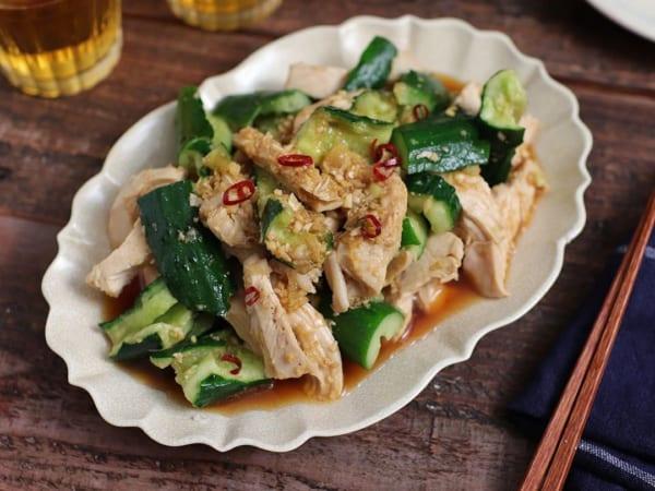 鶏むね肉 人気レシピ 和え物