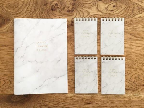 セリアのノートとメモ帳