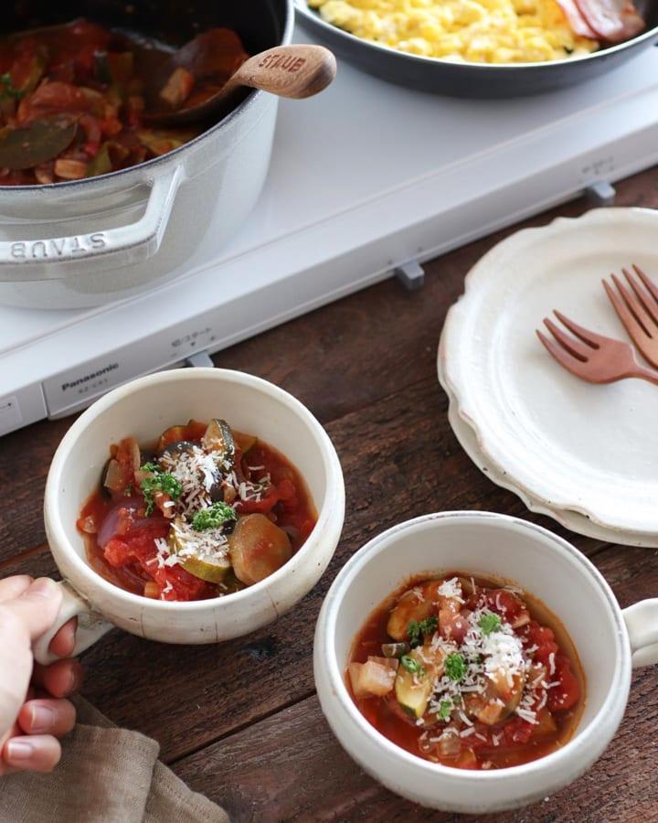 人気のプチトマトのラタトゥイユ