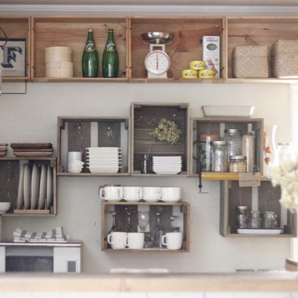 キッチン ディスプレイ収納5