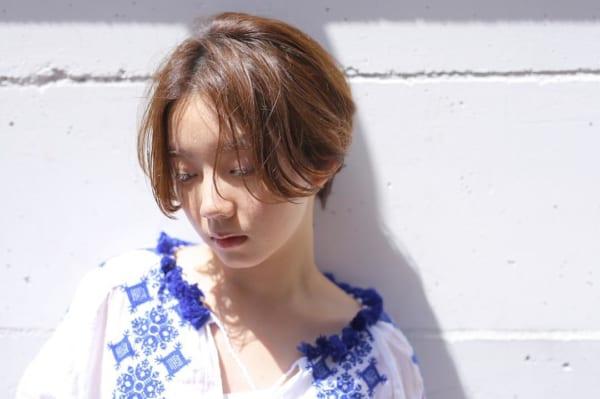 ベース型さんに似合うショートヘア《前髪なし》2
