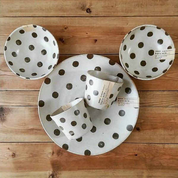 カルエクレシリーズ食器