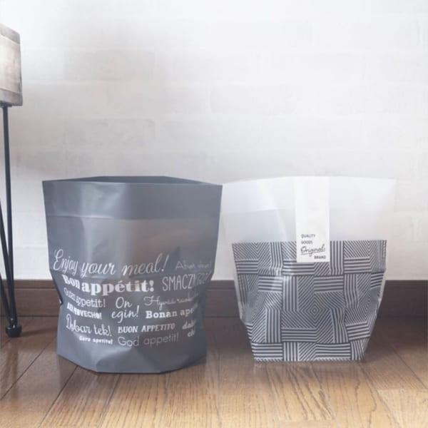自立型ゴミ袋