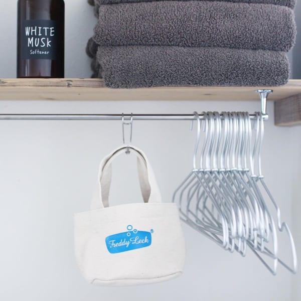 洗濯ばさみはミニミニバッグに