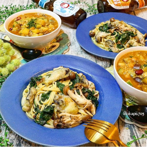 お弁当に人気のほうれん草レシピ 主食5