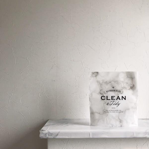 自立型ゴミ袋(洗面所用)