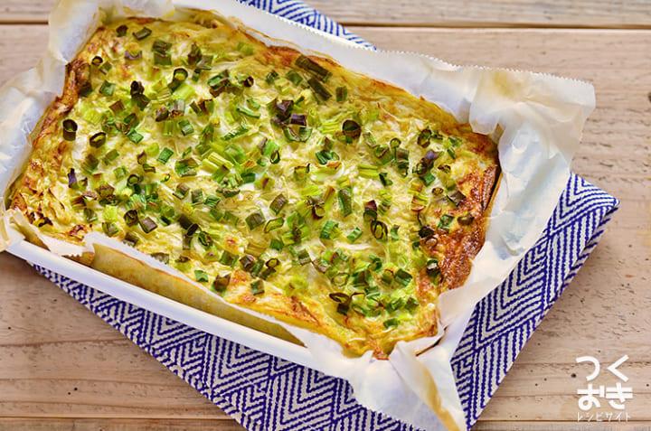 キャベツと長芋のオーブン焼