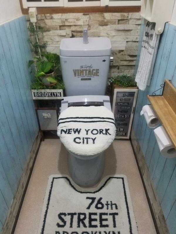 ブルックリン風 インテリア トイレ4