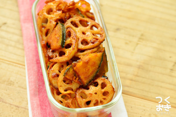 お弁当に人気のかぼちゃレシピ 副菜10