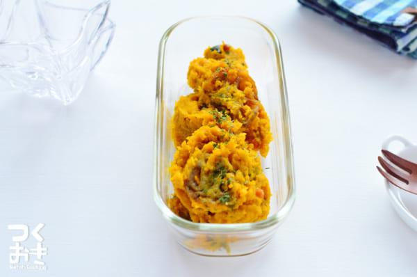お弁当に人気のかぼちゃレシピ 副菜5