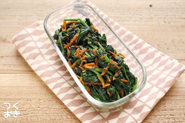 お弁当に人気のほうれん草レシピ 和え物3