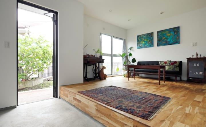 40段の階段と趣味を深堀りできる家3