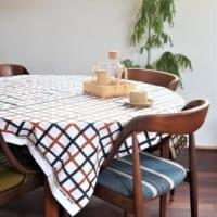 【連載】北欧のおしゃれなデザインのテーブルクロスで秋のティータイムを楽しもう♪