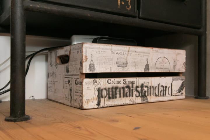 木箱 収納8