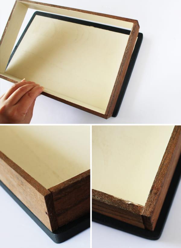 簡単100均DIY!洋書型ボックスの作り方3
