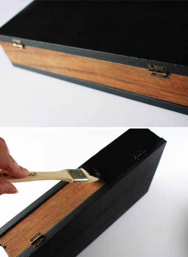 簡単100均DIY!洋書型ボックスの作り方4