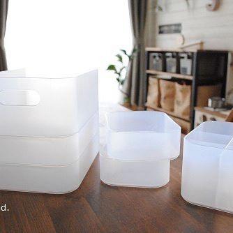 【冷蔵庫収納】100均グッズ①積み重ねボックス