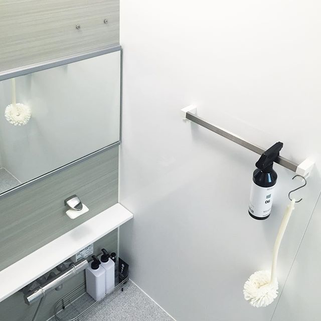 年末大掃除までに浴室のアイテムを整理する