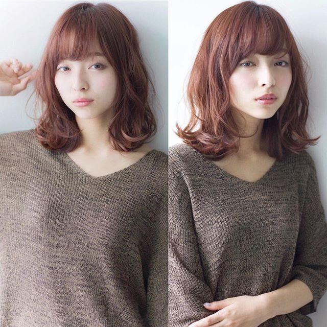 40代女性 髪型 ミディアムヘア