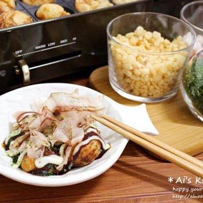 ブルーノ たこ焼きホットプレート レシピ