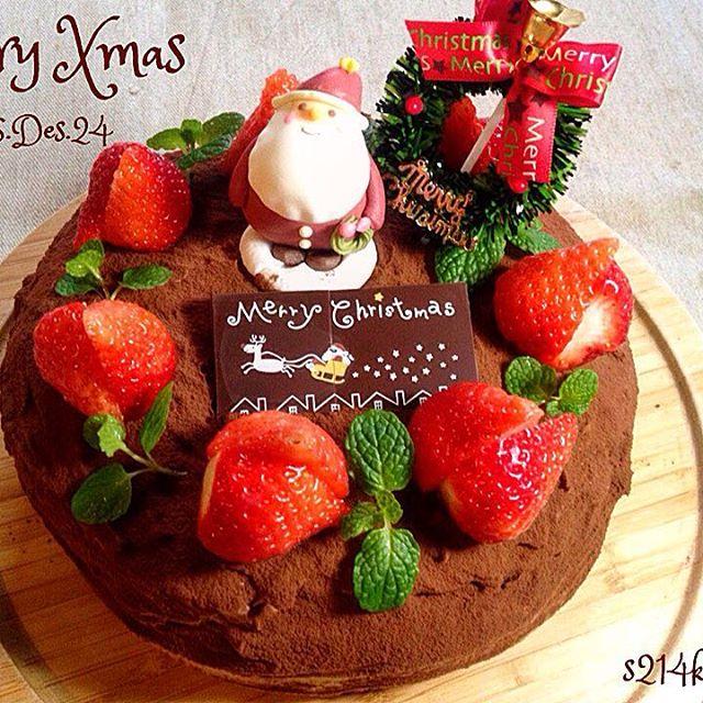 クリスマスの定番!チョコレートケーキスイーツ