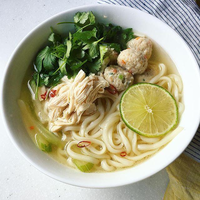 パクチー 人気料理レシピ 麺類5