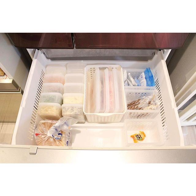 冷凍庫 収納19