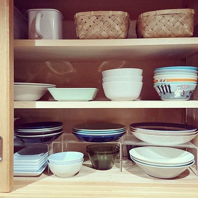 賃貸キッチンに嬉しい!仕切り棚で収納拡張