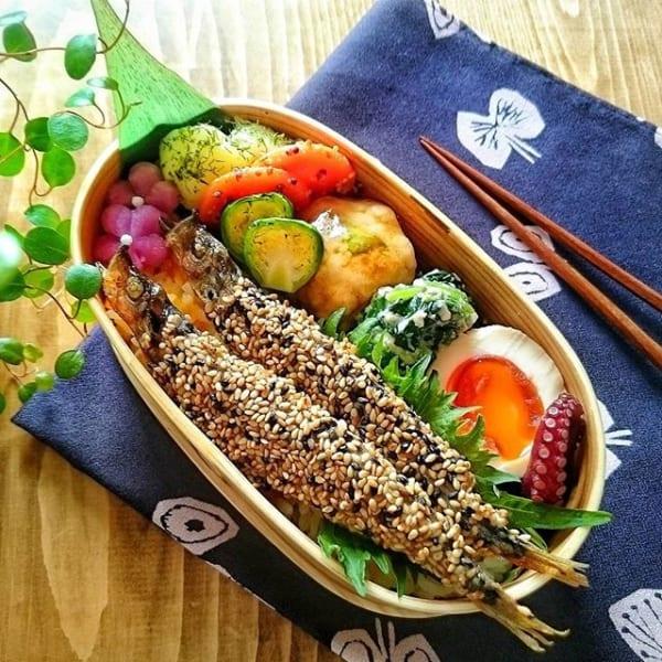 冬の食材を使った美味しい魚!シシャモの胡麻焼き