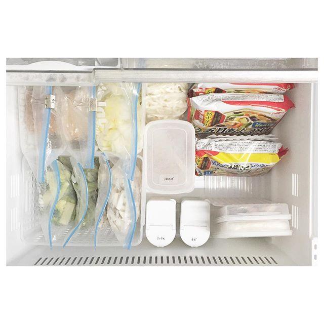 冷凍庫 収納12