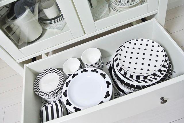 キッチンの引き出し収納《食器》2