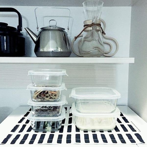 耐熱ガラス食器(ダイソー)2