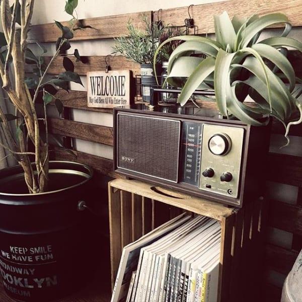 寛ぎのインテリアに加えたい音楽とラジオ