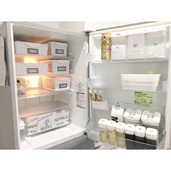 【冷蔵庫収納】100均グッズ②ドレッシングボトル