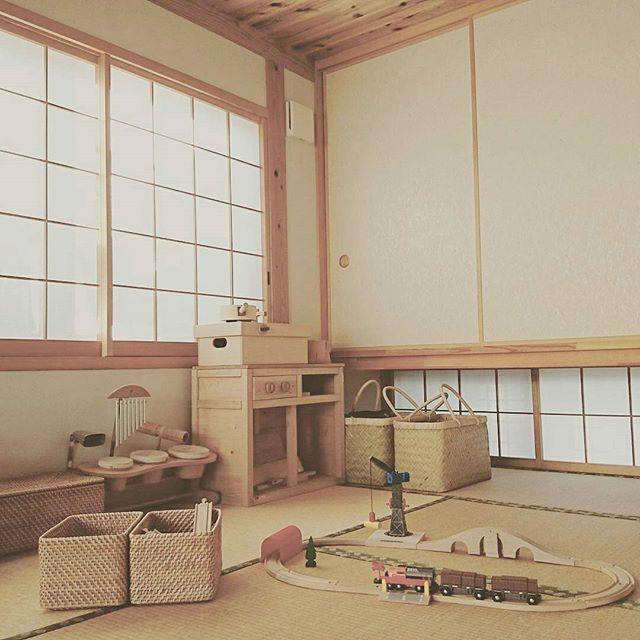 子供部屋もとことん和風が魅力的な和室