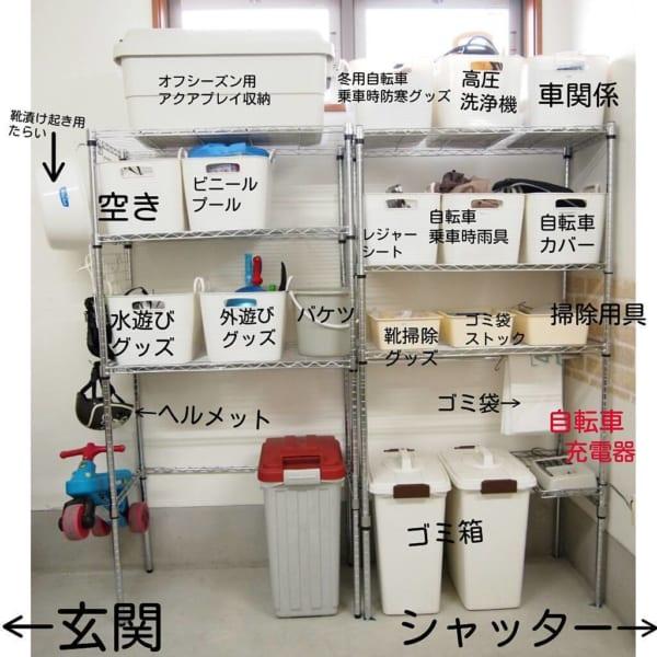 お外用おもちゃを【ボックス・ケース収納】6