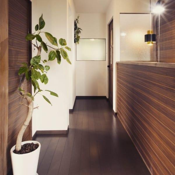 木材の床で楽しむインテリア5