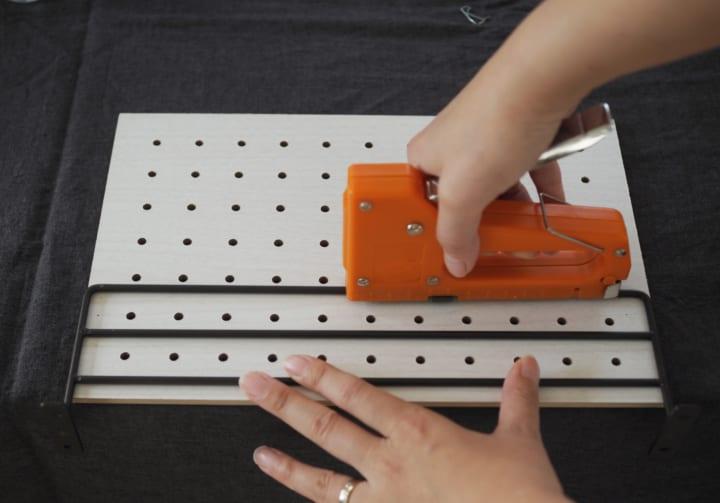 ダイソー 有孔ボード 簡単 リメイク6
