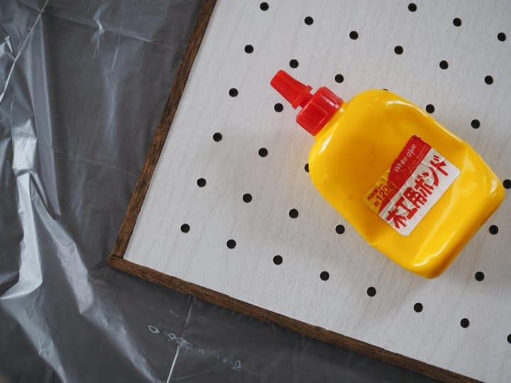 ダイソー 有孔ボード 簡単 リメイク16
