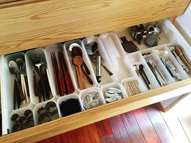 キッチンの引き出し収納《カトラリー》6