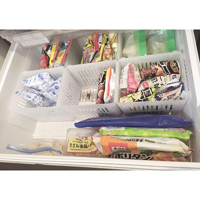 冷凍庫 収納3