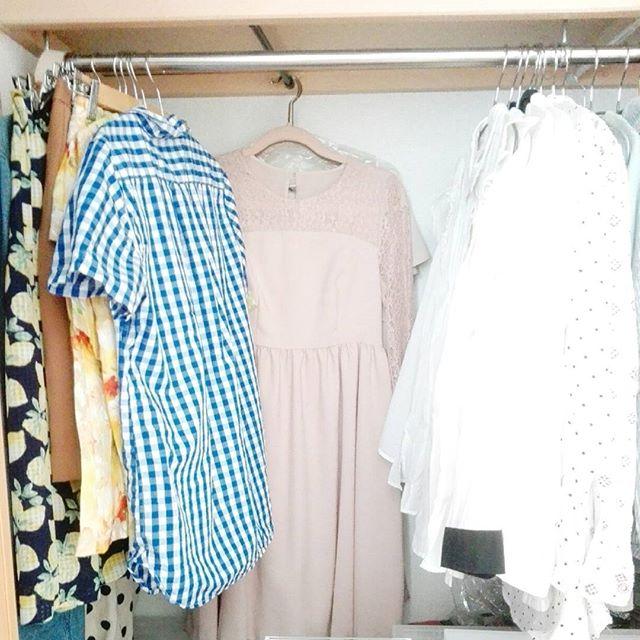 お洋服の収納アイディア3