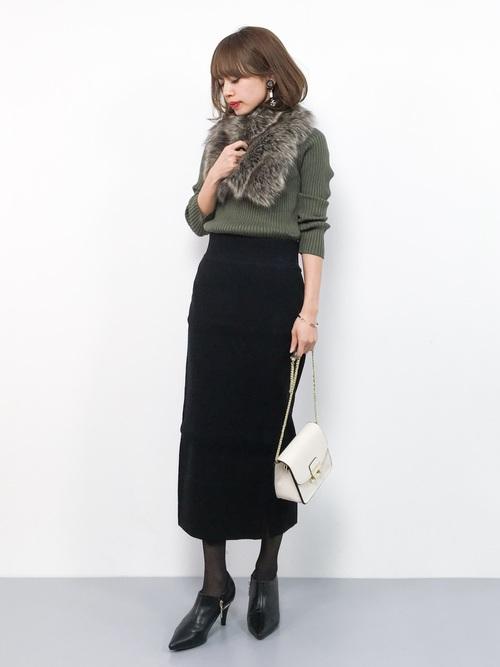 オフィス カジュアル スカート12