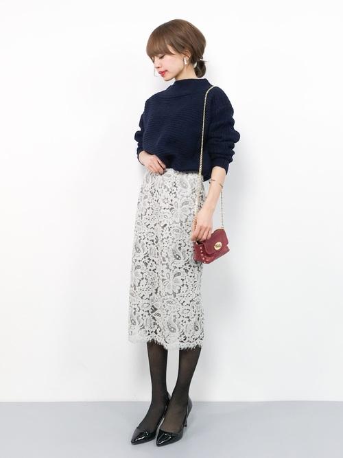 オフィス カジュアル スカート21