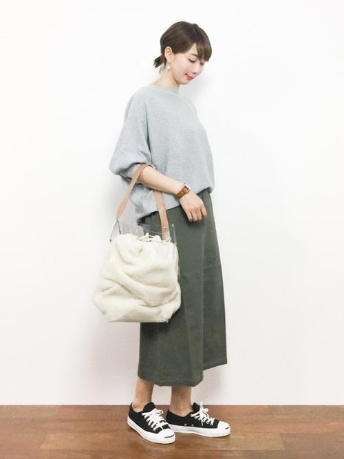 [merlot] 前スリットナロースカート2921